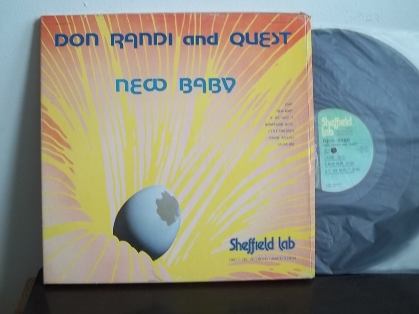 Don Randi and Quest -  New Baby Sheffield Lab Direct Disc Recording