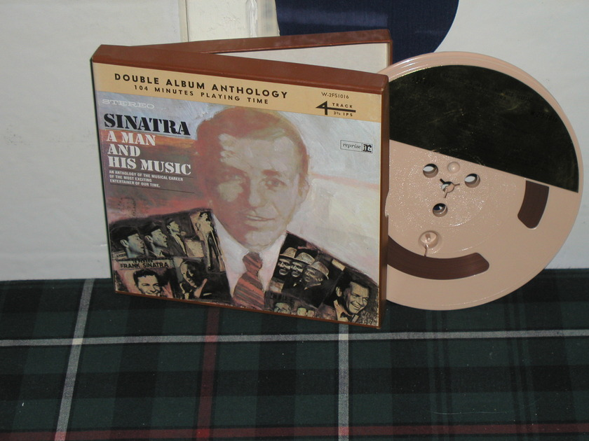 Frank Sinatra - Sinatra A Man And His Music Open Reel Tape (2 LP's on 1 tape)