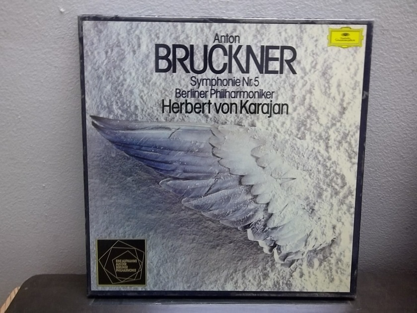 Anton Bruckner Symphony No. 5 - DGG Digital 2lp Box set