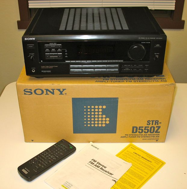 Sony STR-D550Z AV Stereo Surround Receiver
