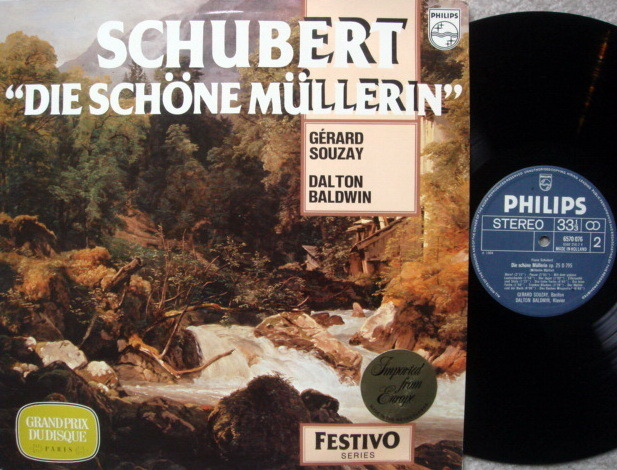 Philips / SOUZAY, - Schubert Die Schone Mullerin,  MINT!