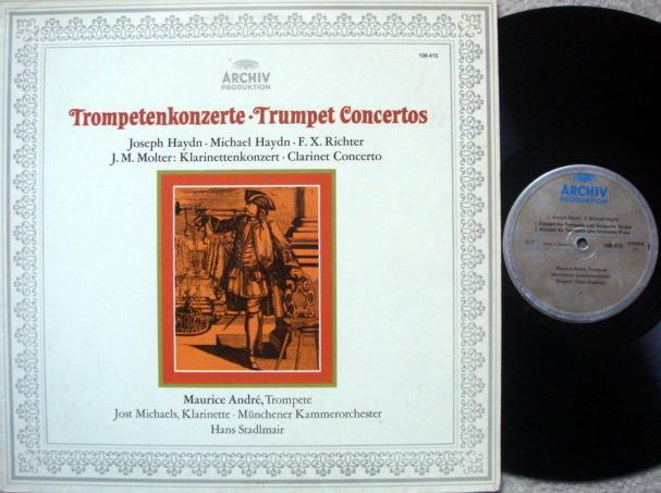 Archiv / MAURICE ANDRE, - Haydn-Richter Trumpet Concertos, EX!