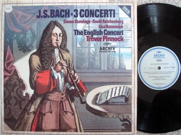 Archiv Digital / PINNOCK, - Bach 3 Concertos, MINT!