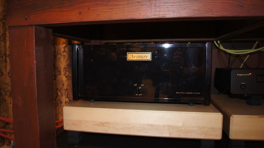 Aronov LS-9100 Mono Block Amps