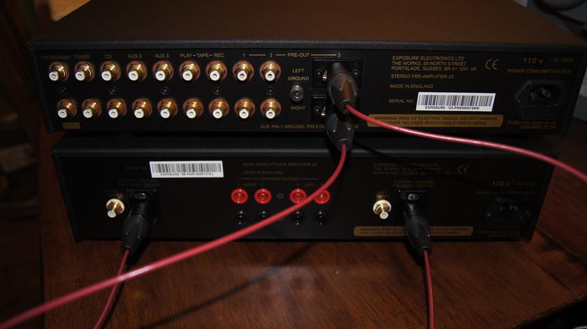 Exposure xxviii Dual Mono Amp