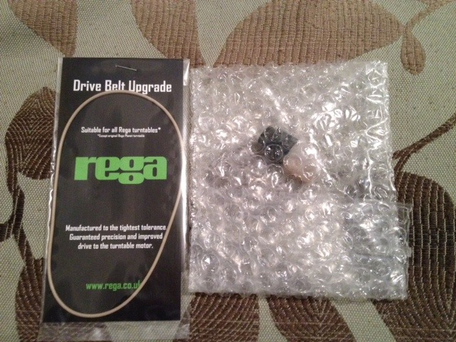 Rega White Belt & Bearing Oil NEW! FREE SHIPPING!
