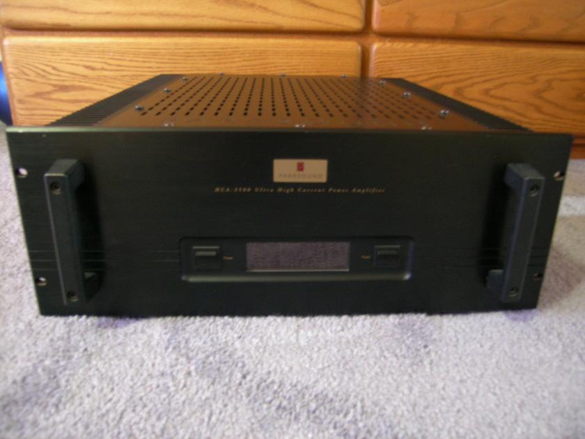 Parasound HCA 3500 John Curl Design Class A / AB Amplifier Dual Mono Near Mint