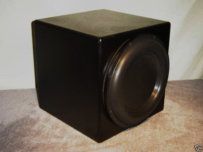 """SUNFIRE TRUE SUB MARK IV 2700 WATTS, 11"""" CUBE!  ARTICULATE, TIGHT BASS RESPONSE! GREAT FOR MUSIC AND HOME THEATER!"""