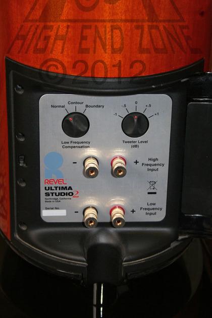 $16,000 Revel  Ultima Studio 2 Speakers with Spectacular Mahogany Finish