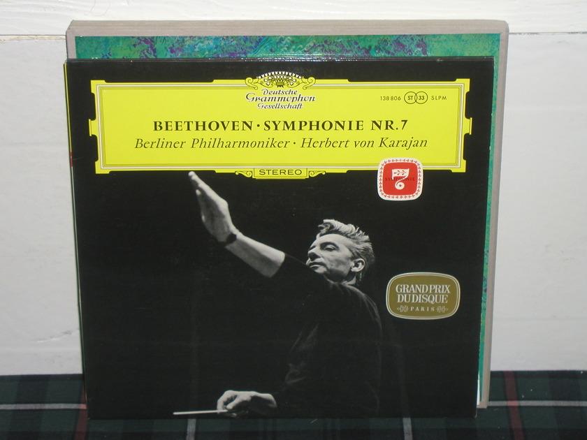 Von Karajan/BPO - Beethoven Nr.7 DG German import LP