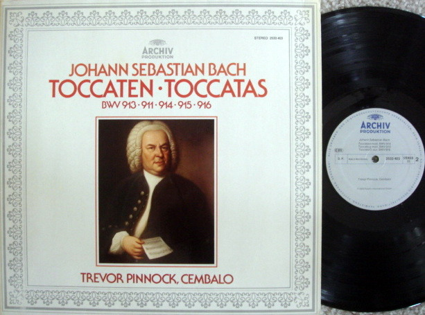 Archiv / PINNOCK, - Bach Toccatas, MINT!