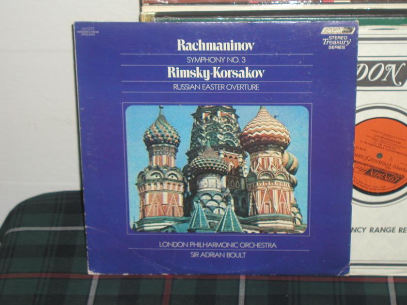 Boult/LPO - Rachmaninoff London UK/Decca LP
