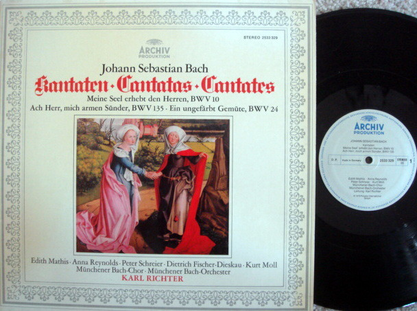 Archiv / RICHTER, - Bach Cantatas BWV.10, 135 & 24, MINT!