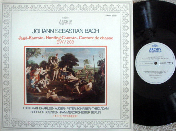 Archiv / SCHREIER, - Bach Hunting Cantata BWV.208, MINT!
