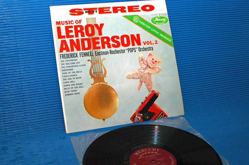 "ANDERSON/Fennell -  - ""The Music of Leroy Anderson Vol 2"" -  Mercury Living Presence 1958 TAS 1st pressing"