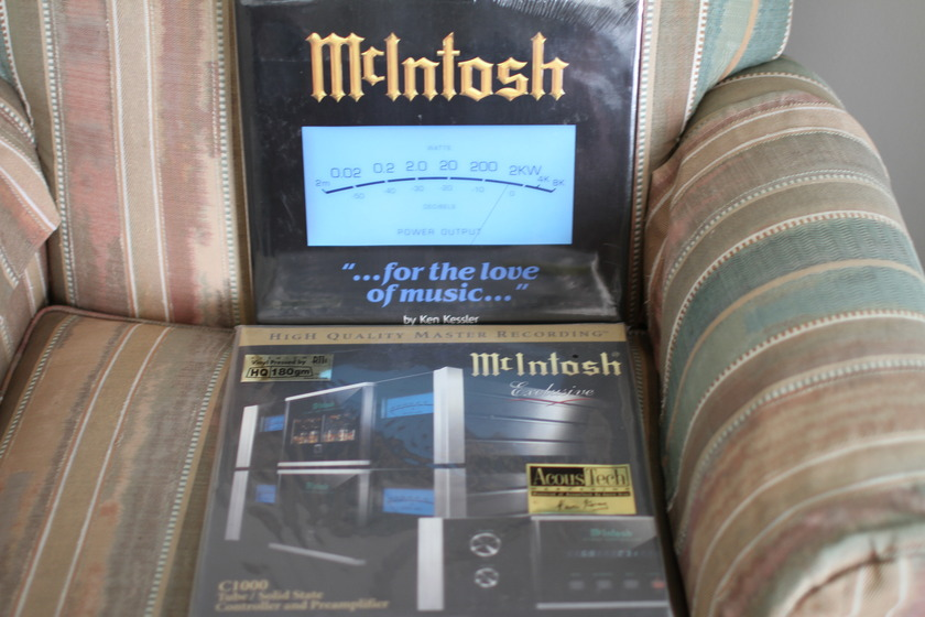 McIntosh - For The Love Of Music book Demo disc 180 gm