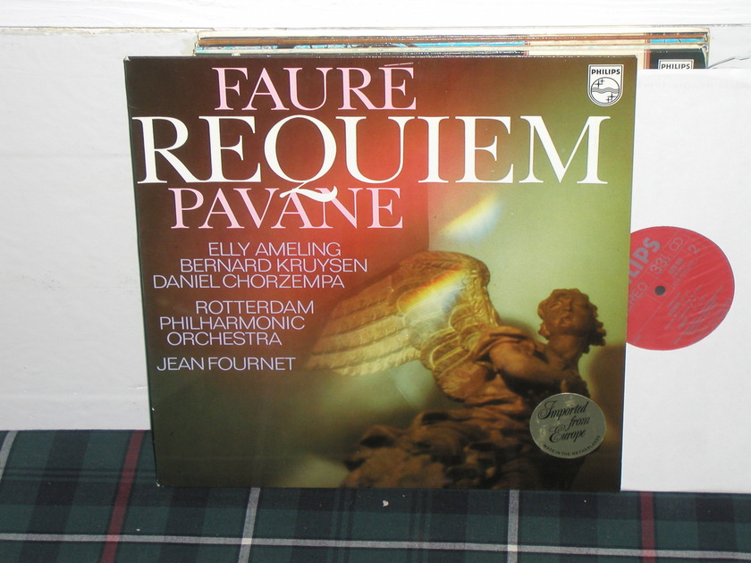 Fournet/RPO - Requiem/Pavane Philips Import LP 6500