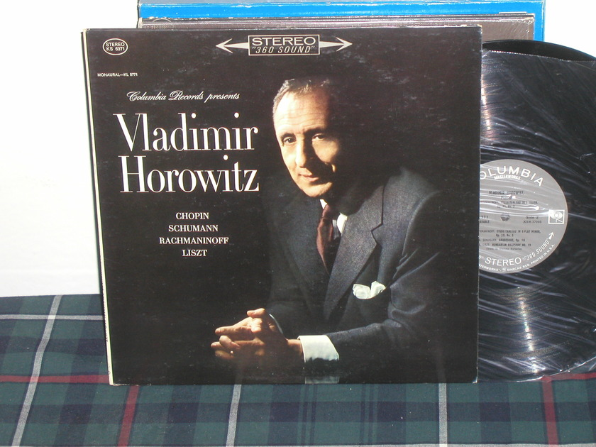 Vladimir Horowitz - Chopin/Schumann Columbia 360  labels from 60's