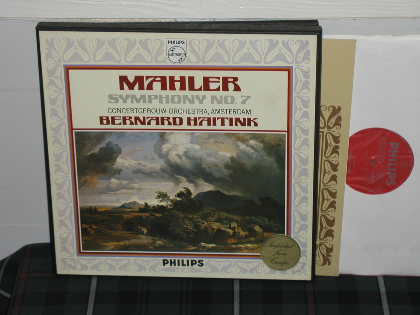 Haitink/Coa - Mahler Nr.7 Philips Import  2lp box 6700
