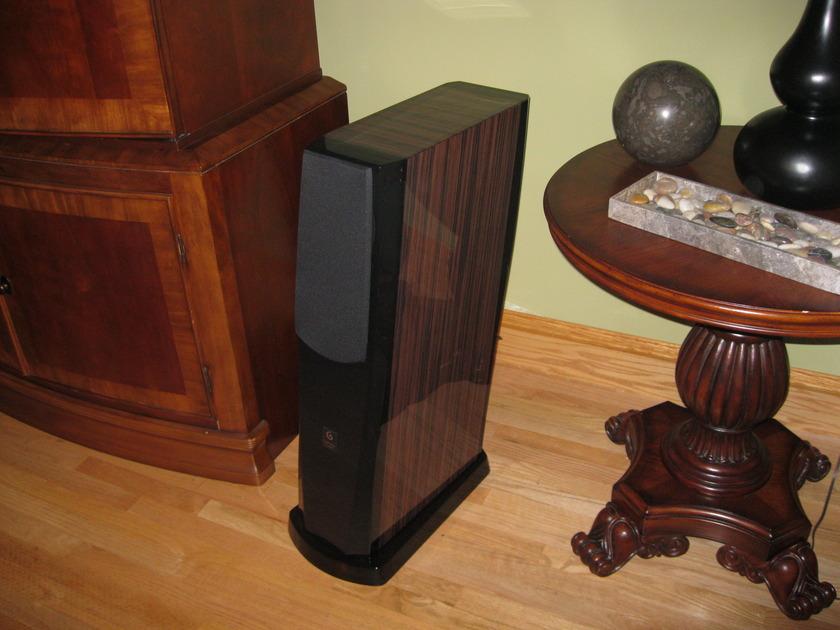 Gemme Audio Tanto V2 Zebrawood Speakers (3)