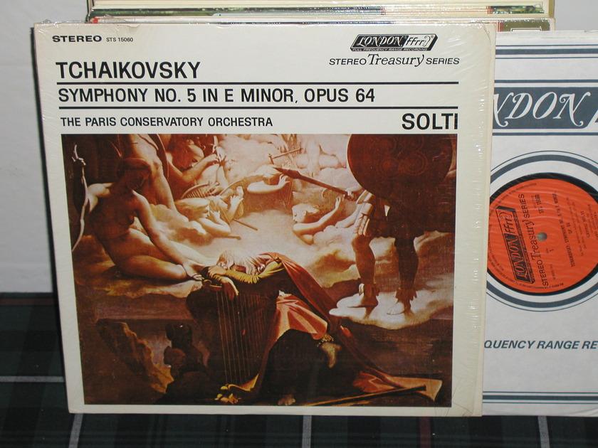 Solti/Pco - Tchaikovsky No.5 London UK/Decca sts 15060