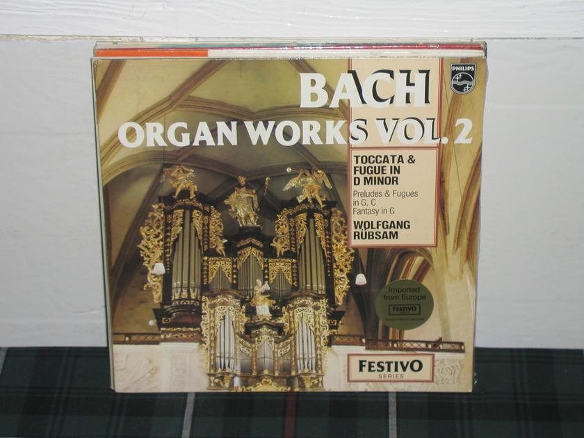 Rubsam - Bach Philips Import Holland LP