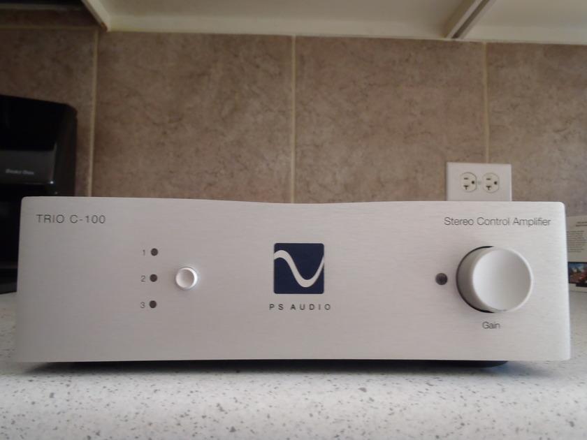 PS Audio Trio C-100  100wpc remote integrated amplifier