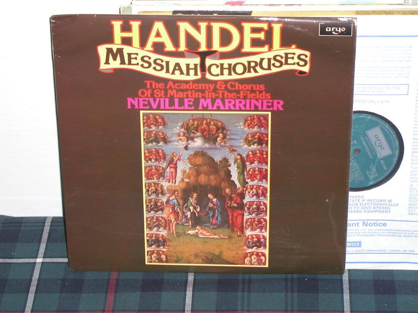 Marriner/Aostmitf - Handel UK Argo/Decca LP zrg-872