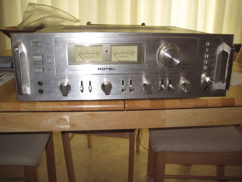 Rotel (vintage) RA-1412 110 WPC Integrated Amplifier