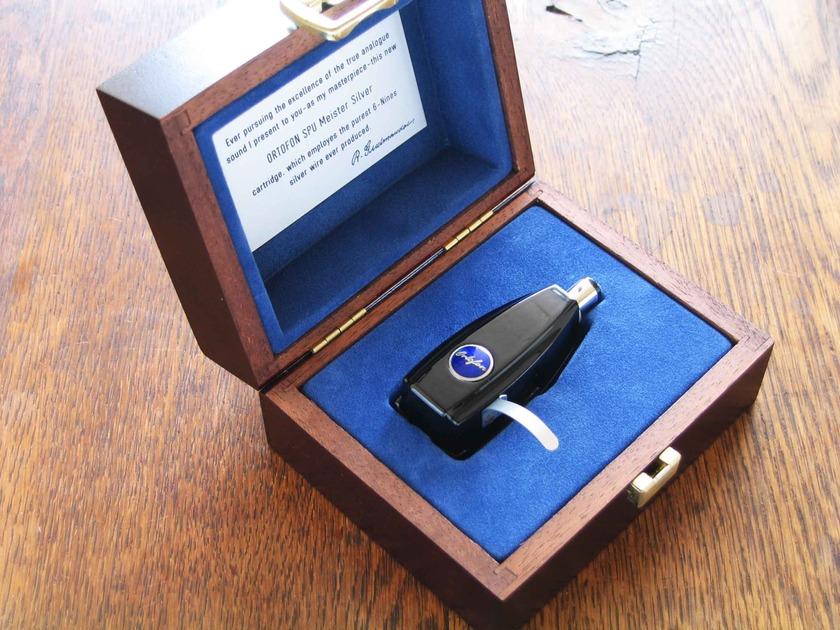 Ortofon  SPU meister Silver GM MK II phono cartridge