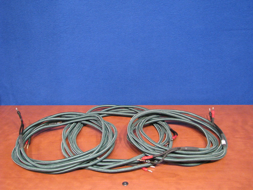Audioquest CV-4  X 20' length speaker Wire, LCR 3 pieces 20' with   Bananas/Bananas and in great condition, One Owner, Three 20' length wires LCR