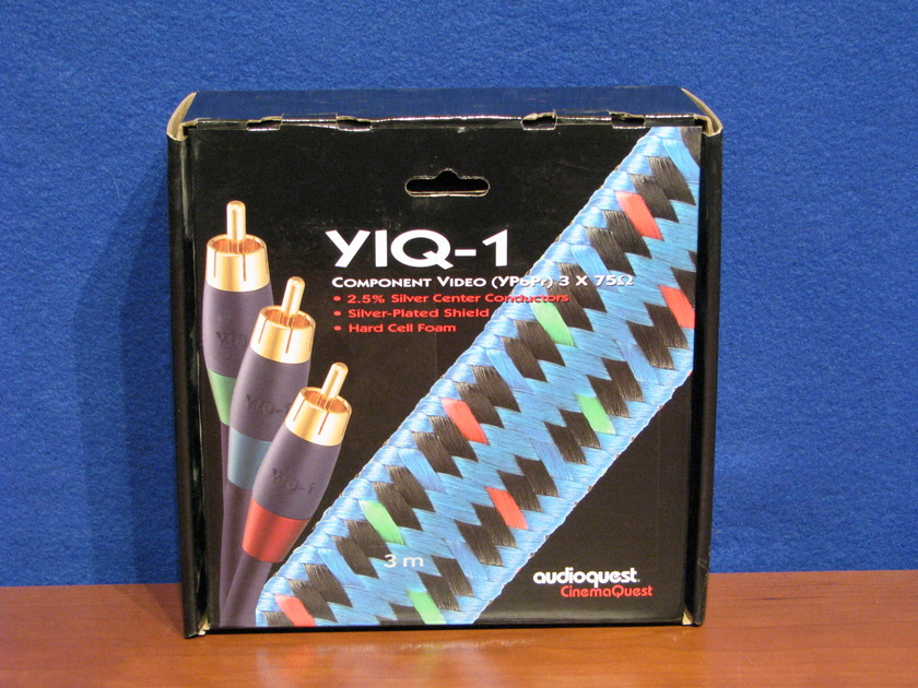 Audioquest Yiq-1 3m RCA comp. Video cable, looks like new