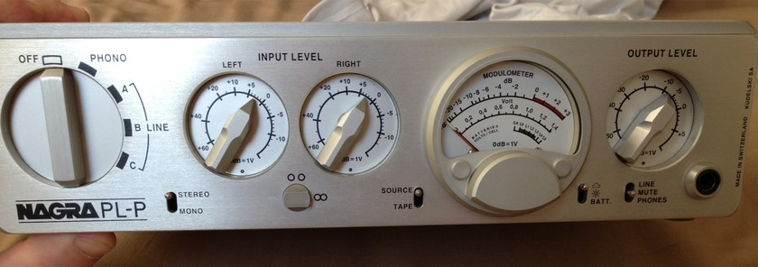 Nagra PL-P Perfect condition Universal voltage PRICE REDUCED