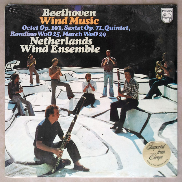 SEALED Philips/Netherlands Wind Ensemble/Beethoven - Octet, Sextet, Quintet, Rondino, March