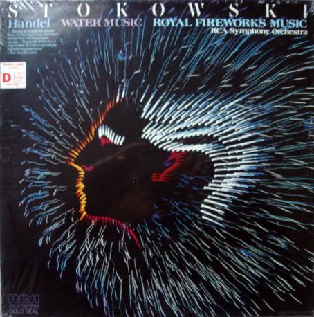 ★Sealed★ RCA Gold Seal / STOKOWSKI, - Handel Water Music, Royal Fireworks Music!