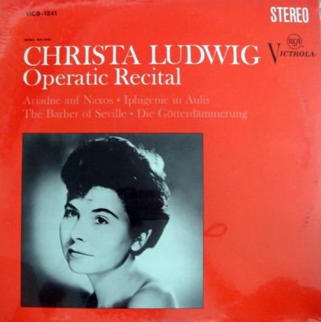 ★Sealed★ RCA Victrola / LUDWIG, - Operatic Recital!