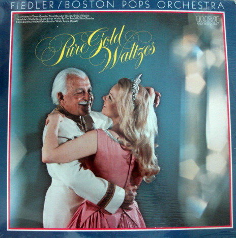 ★Sealed★ RCA Stereo /  - FIEDLER, Pure Gold Waltzes!