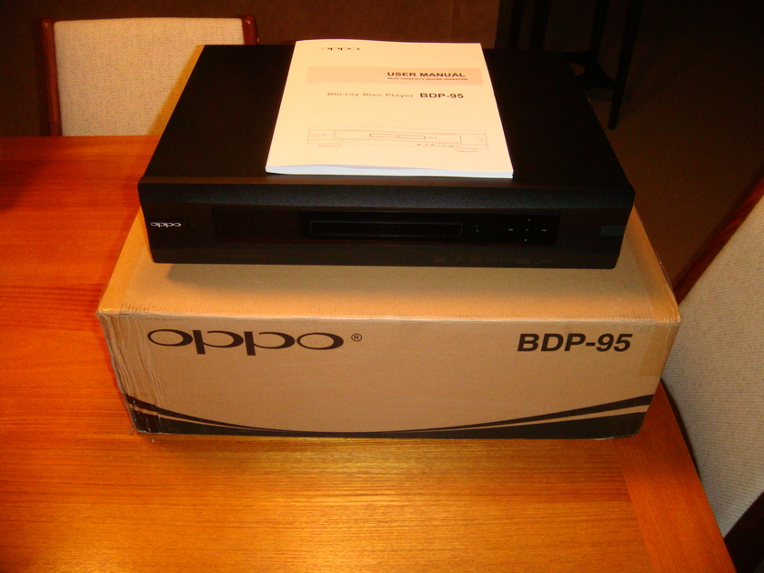 Oppo BDP-95 Very Little Use