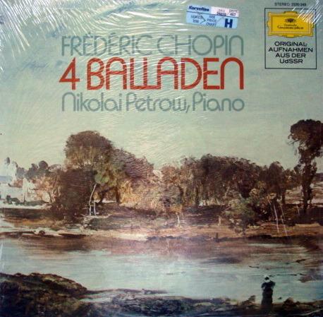 ★Sealed★ DG / - PETROW, Chopin Four Ballades!