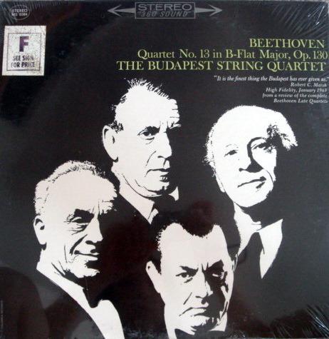 ★Sealed★ Columbia / BUDAPEST QT, - Beethoven String Quartet No.13!