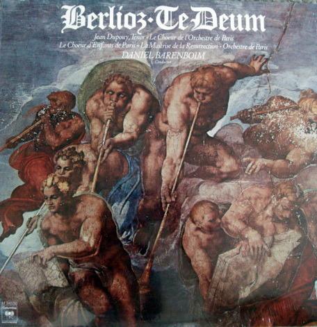★Sealed★ Columbia / BARENBOIM, - Berlioz  Te Deum!