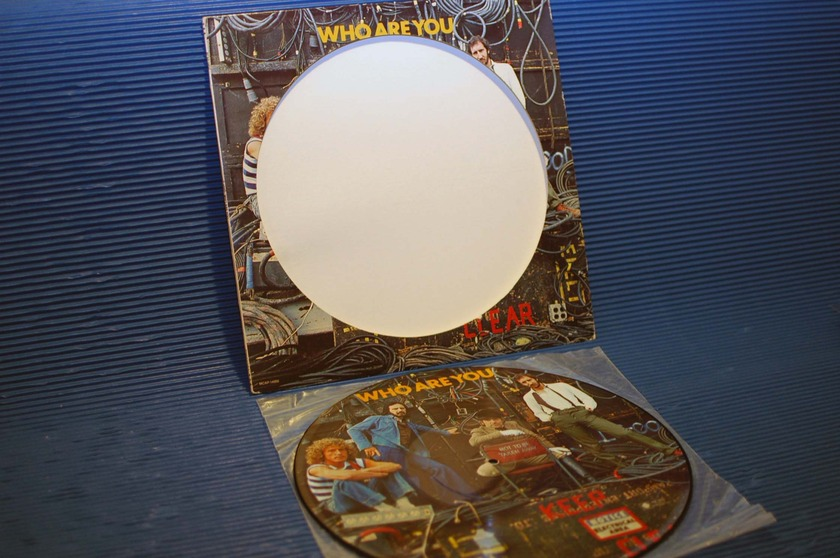 """THE WHO -  - """"Who Are You"""" Picture Disk -  MCA 1978"""