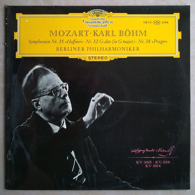 DG/Bohm/Mozart - Symphies Nos. 35, 32, 38 / NM
