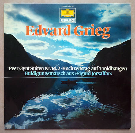 DG/Grieg Peer Gynt Suites Nos. 1 & 2, - Wedding Day at Troldhaugen / EX
