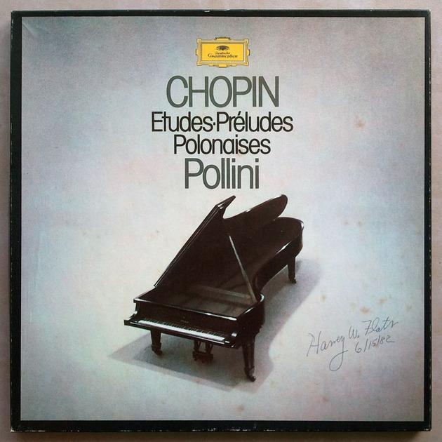 DG/Pollini/Chopin - Etudes, Preludes, Polonaises / 3-LP / NM