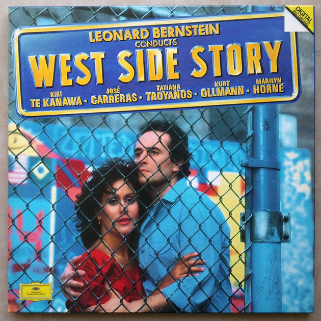 DG Digital/Bernstein - conducts West Side Story / 2-LP box / NM