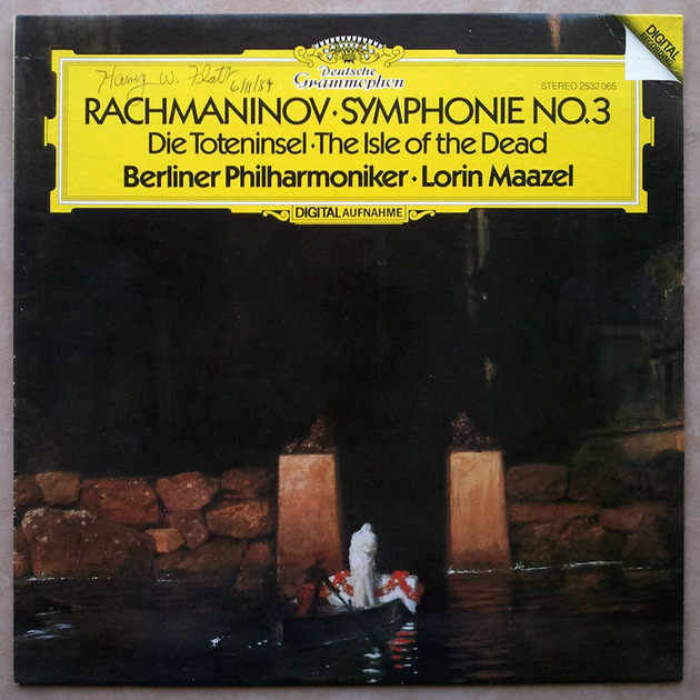 DG Digital/Maazel/Rachmaninoff - Symphony No.3, Isle of the Dead / NM