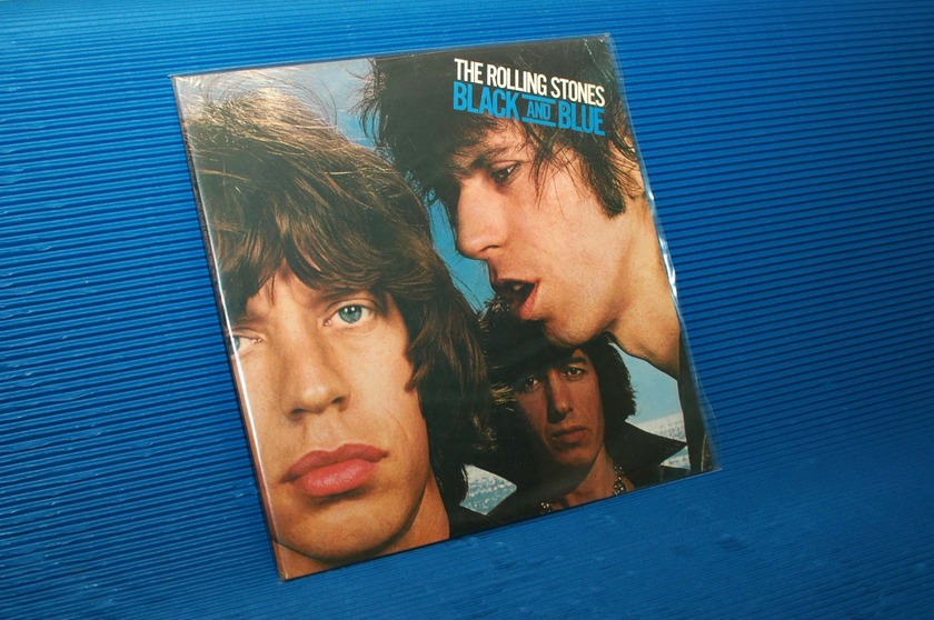 """THE ROLLING STONES - - """"Black & Blue"""" - Rolling Stones Records 1976 Sealed"""
