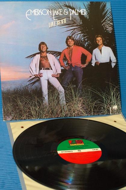 "EMERSON, LAKE & PALMER - - ""Love Beach"" -  Atlantic 1978"