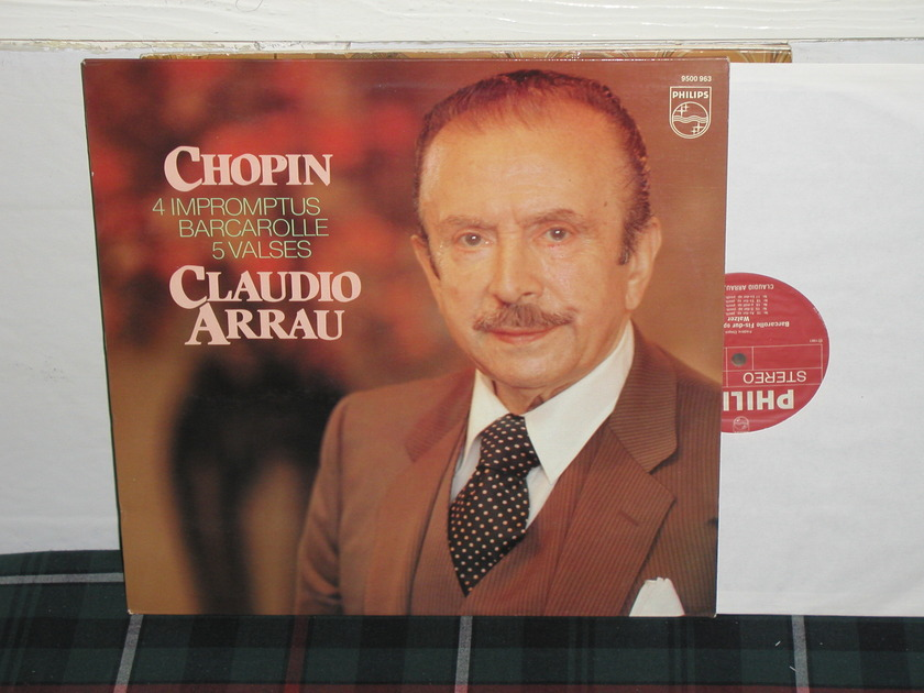 Arrau - Chopin 4 Impromptus Philips Import Pressing 9500